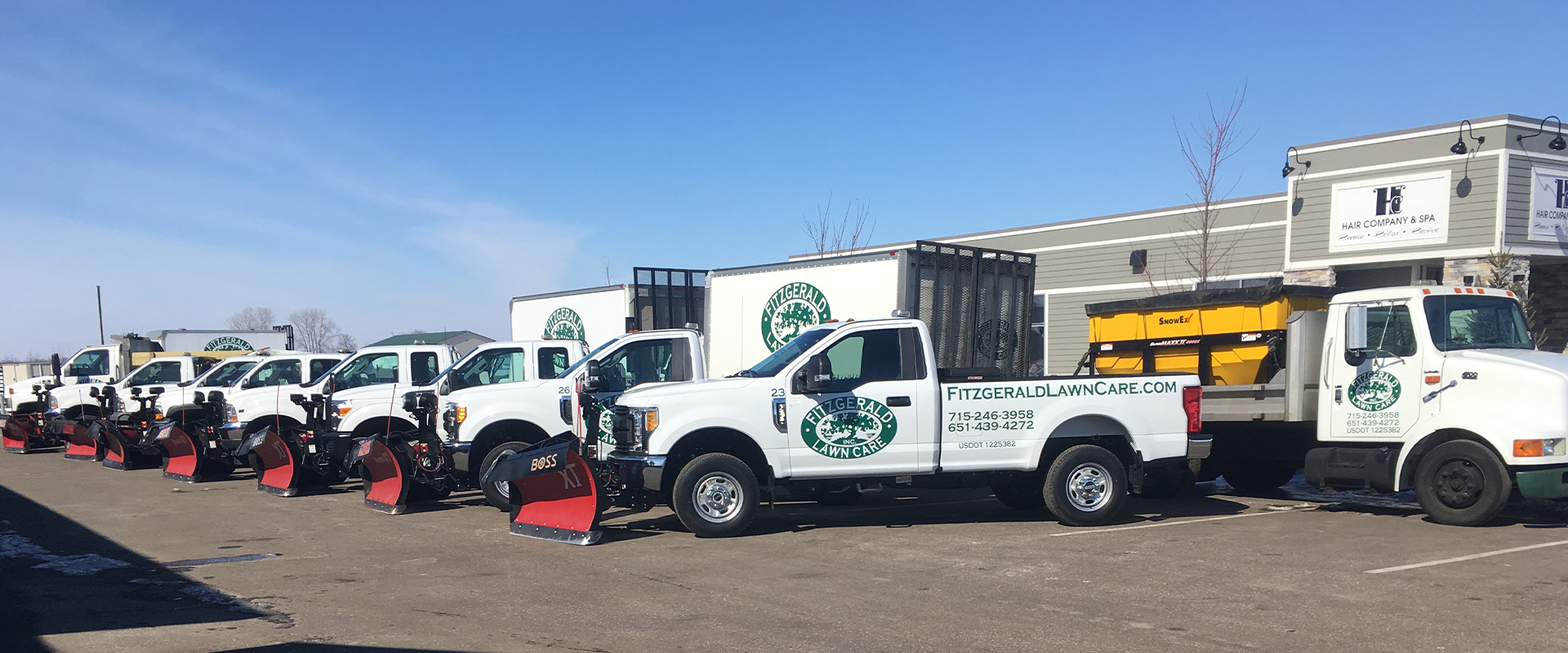Snow Plowing & Snow Removal Services